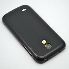 For Samsung Galaxy S4mini i9190 Black TPU Matte Gel skin Case Back Cover