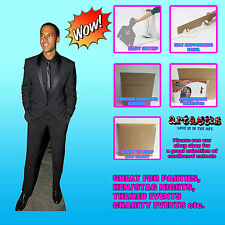 Marvin Humes British Singer Former JLS Lifesize Cardboard Cutout