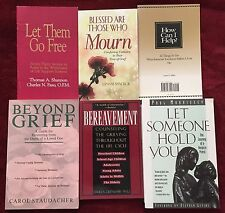 Bundle of 6 Books: Grief and Loss Bereavement Family Tragedy Mourning Empathy