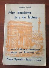 L48  Mon deuxième livre de lecture - Armando Landini - 1946