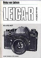 Leica R3 & R3 MOT Reflex Camera, Lens Accessory Guide Book More R Manuals Listed