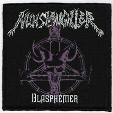 NUNSLAUGHTER PATCH / SPEED-THRASH-BLACK-DEATH METAL