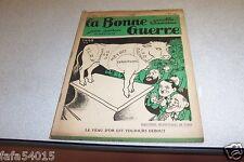 REVUE SATIRIQUE LA BONNE GUERRE 11 mai 1935 CARB