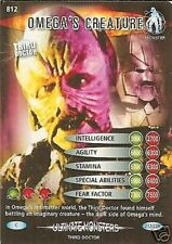 DR WHO ULTIMATE MONSTERS 812 OMEGA'S CREATURE