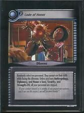 Star Trek CCG 2E SNW RARE Code Of Honor 7R2 NM/M