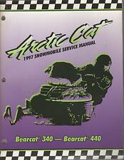 1997 ARCTIC CAT BEARCAT 340 & 440 SERVICE MANUAL P/N 2255-527 (100)