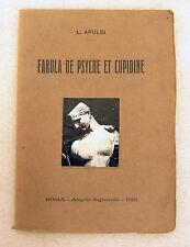 L.Apulei(Apuleio),FABULA DE PSYCHE ET CUPIDINE,1918 Signorelli[Metamorfosi