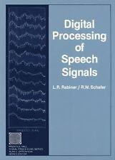 Digital Processing of Speech Signals (Prentice-Hall Series in Signal P-ExLibrary