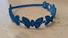 Authentic Cruciani Butterfly bracelet - Blue