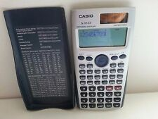 CASIO FX-115ES NAT. DISPLAY SCIENTIF SOLAR CELL BATTERY CALCULATOR W/COVER-WORKS