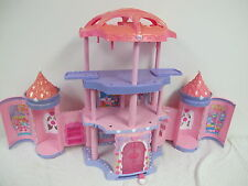MY LITTLE PONY CRYSTAL RAINBOW CASTLE POP UP HOUSE 2005 HASBRO