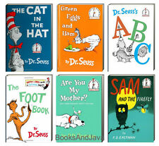 Dr Seuss Cat in the Hat,Green Eggs and Ham,Are You My Mother,ABC + 6 Bk Set