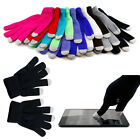 Women Men Knitted Wool Hands Wrist Fingerless Winter Warmer Touch Screen Gloves
