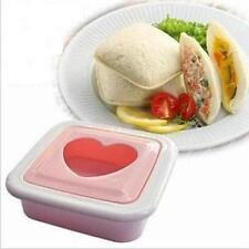 Amor Corazón Forma Sándwich Pan Molde Cortador de pan tostado Maker para día de San Valentín