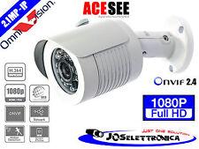 TELECAMERA IP CAMERA 2.1 MP FULL HD 1080 OMNIVISION VIDEOSORVEGLIANZA 2mp ONVIF