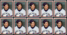 (10) PAUL MOLITOR 1983 TOPPS STICKERS # 83 - HALL OF FAME - MILWAUKEE BREWERS