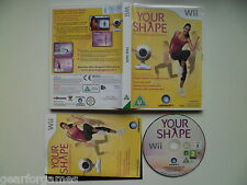 NINTENDO WII PAL GAME YOUR SHAPE GAME ONLY NO CAMERA TESTED