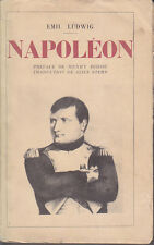 C1 ALLEMAGNE Emil LUDWIG - NAPOLEON Payot 1929