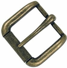 """Napa Buckle 1-1/2"""" (38 mm) Antique Brass Finish Tandy Leather 1643-09"""