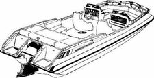 STYLED TO FIT BOAT COVER 1978-1986 FOUR WINNS CANDIA 190 DECK BOAT LOW RAILS I/O