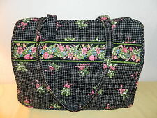 "VERA BRADLEY ""CANCER PATTERN""  DIAPER BAG  WITH CHANGING PAD EGUC"