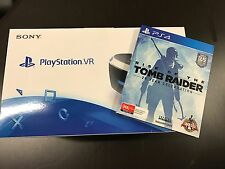 SONY Play Station PS4 VR IN STOCK + Rise of the Tomb Raider *NEW*+Warranty
