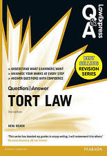 Law Express Question and Answer: Tort Law (Q&A Revision Guide) by Neal Geach (P…