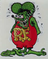 RAT FINK DECAL STICKER.    Z018