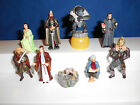 LORD the RINGS 3 Set of 9 Mini Figurines RETURN of KING Kinder Surprise GERMANY