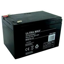 3 x 6-DZM-12 (equiv)12V 12ah (13Ah) - Re-chargeable ELECTRIC BIKE GEL BATTERIES