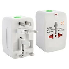 Portable All-in-One Universal US /UK /EU /AU Plug AC Charger Travel Power Adapte
