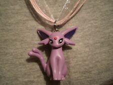 Pokemon Espeon Anime Figure Charm Necklace Cute Kawaii Cool Collectible Jewelry
