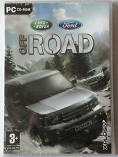 LAND ROVER FORD OFF ROAD 4X4 CAR RACING PC CD-ROM GAME brand new & sealed UK