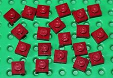 Lego Dark Red Plate 1x1 20 pieces NEW!!!