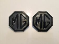 MG Badge Front Grille and rear boot badges 59mm with lug holes for MG ZR LE 500