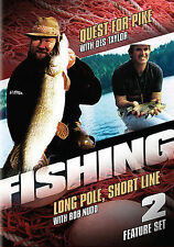 Fishing - Quest for Pike/Long Pole, Short Line (DVD,...