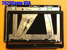 "Genuine HP G60 16"" LCD Lid Back Cover Front Bezel WebCam  Antennas NICE SHAPE!"