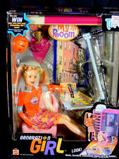 NIB 2000 BARBIE DOLL GENERATION GIRL MY ROOM TORI