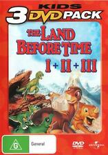 The Land Before Time / The Land Before Time II: The Gr . - DVD - NEW Region 4, 2