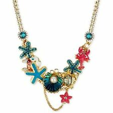 "NWT Betsey Johnson Fabulous ""Under the Sea"" Necklace MSRP $145.00"