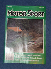 Motor Sport April 1989 Ford GT40, Johnny Herbert, Mazda 323 Turbo, Biasion