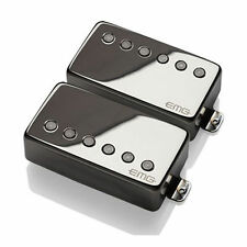 NEW EMG 57 + 66 CHROME Active Humbucker Guitar Pickup Set 2-3 day Free Shipping