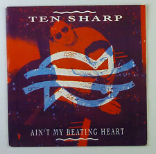 "7"" Single - Ten Sharp - Ain't My Beating Heart - s847 - washed & cleaned"