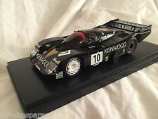 KYOSHO Dnano ASC MM PORSCHE 962C LH No.10 KENWOOD, 1:43 DISPLAY MODEL, DNX601KR