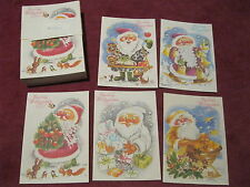 Weihnachtskarten  DDR Ostalgie Weihnachten PLANET-VERLAG Konsum HO KULT