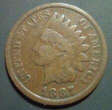 1887 Indian Head Cent Ddo 1 Snow 1 S1 Cherrypicker Fs-101 S-1 Doubled Die n103