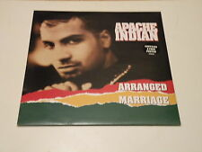 "APACHE INDIAN - ARRANGED MARRIAGE - 12"" MAXI SINGLE W/POSTER 1992 ISLAND RECORDS"