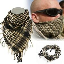 Light weight Military Arab Tactical Desert Army Shemagh KeffIyeh Scarf Beige MT