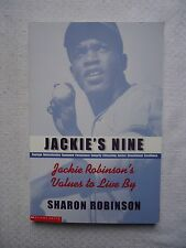 Jackie's Nine: Jackie Robinson's Values to Live By by Sharon Robinson