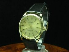 ROLEX OYSTER PERPETUAL 14kt 585 GOLD AUTOMATIC HERRENUHR / REF 1005